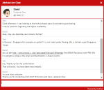 Confirmed by AirAsia chat